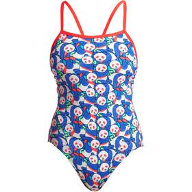 Funkita Eco Single Strap Costume da bagno intero Donna, pandamania
